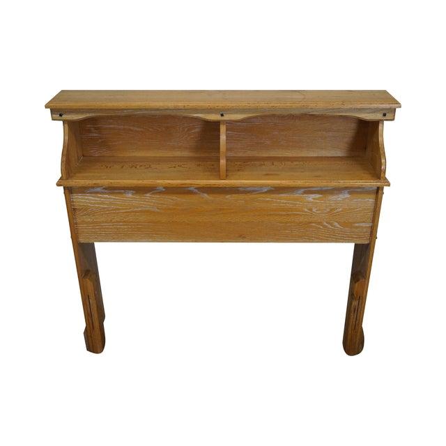 Brandt Ranch Oak Bookcase for Twin Size Headboard - Image 1 of 9