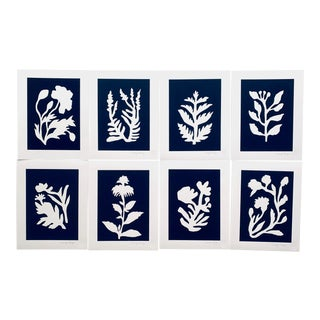 """Sunprints"" Botanical Abstractions Fine Art Giclees - Set of 8 For Sale"