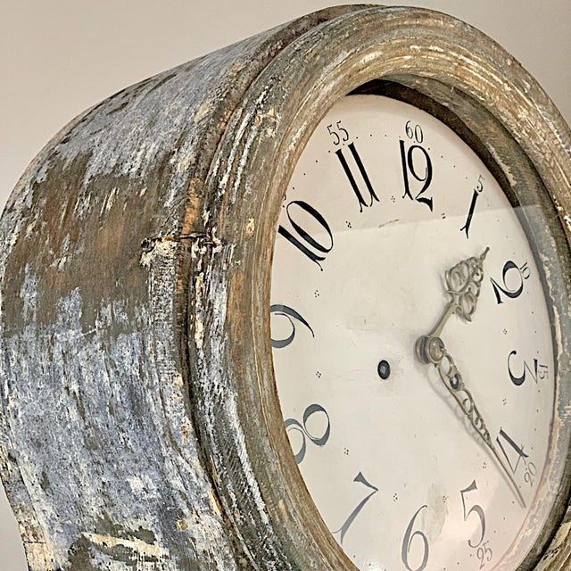 19th Century Swedish Long Case Clock For Sale - Image 11 of 13