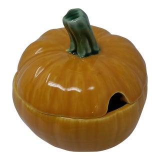 Bordello Pinkerton Made in Portugal Pumpkin Tureen For Sale
