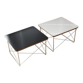 1980s Mid Century Modern Eames for Herman Miller LTR Tables - a Pair For Sale