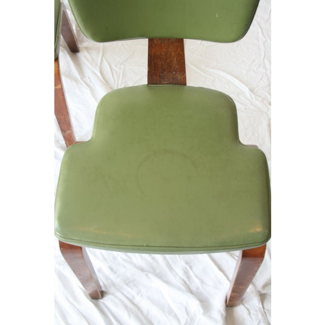 Mid-Century Modern Vintage Thonet Bentwood Chairs - Set of 4 For Sale - Image 3 of 7