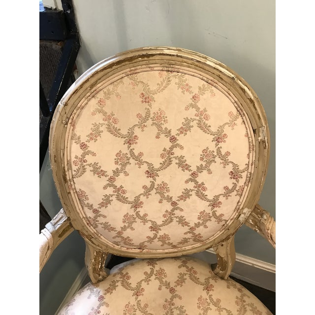 Early 20th Century French Louis XV Style Chairs - a Pair For Sale - Image 4 of 8