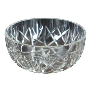 Waterford Crystal Cut Lismore Centerpiece Fruit Salad Bowl Candy Compote For Sale