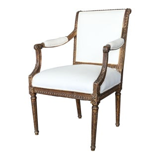 Antique 18th Century Italian Armchair For Sale