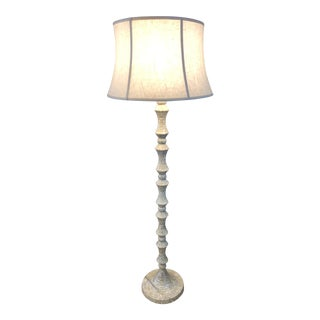 Tessellated Stone Mosaic Floor Lamp For Sale