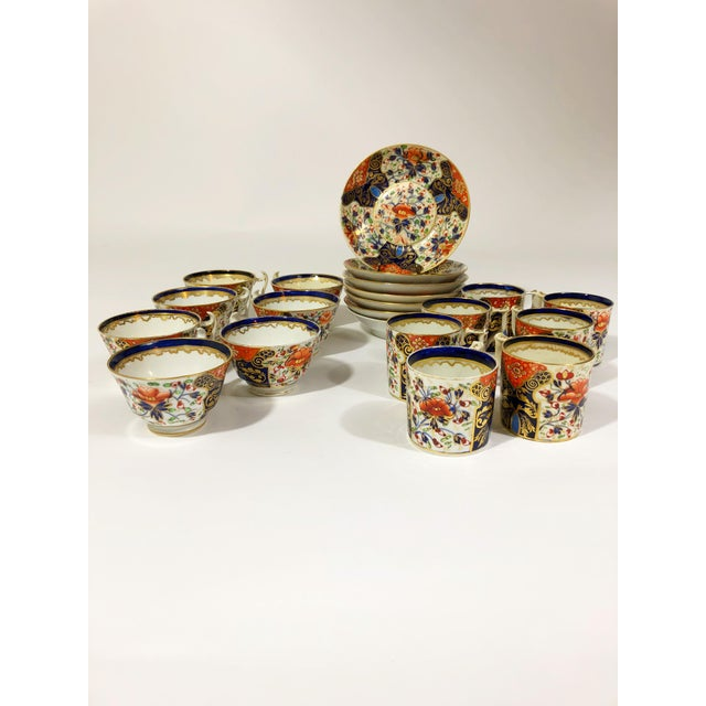 Late 18th Century Late 18th Century Royal Crown Derby Hand Painted Fine Bone China - Set of 21 For Sale - Image 5 of 5