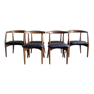 Mid-Century Modern Lawrence Peabody Sculptural Dining Chairs - Set of 6