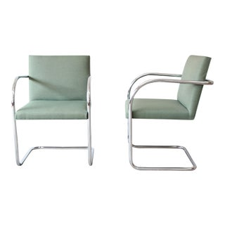 Brno Sage Green Club Chairs by Gordon International, 7 Available For Sale