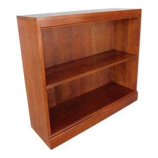 "Stickley Cherry Open Bookcase Display Wall Cabinet Model 4312 ""A"" For Sale"