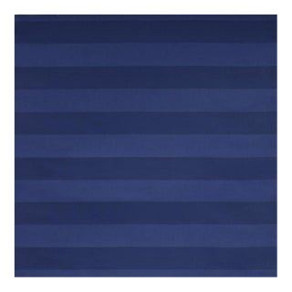 """Carolina Indigo"" Sunbrella Indoor/Outdoor Upholstery Striped Fabric"