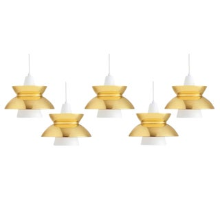 Jorn Utzon Pendants for Louis Poulsen