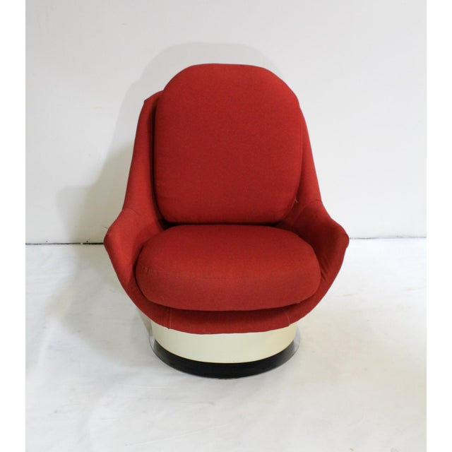 Milo Baughman Swivel Lounge Chair - Image 2 of 8