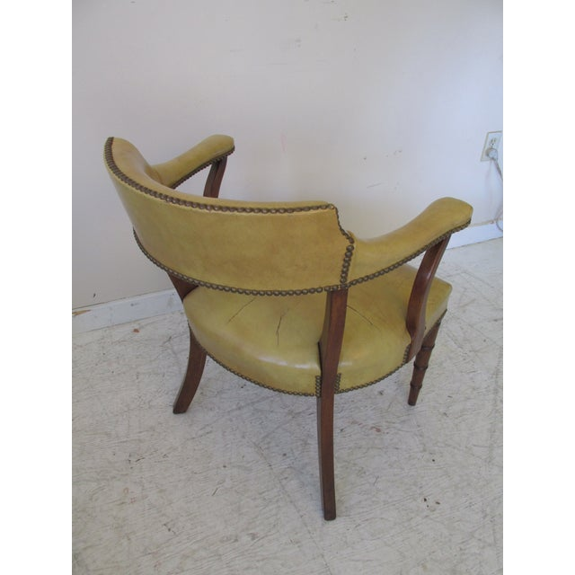 Vintage Butterscotch Leather Armchairs - A Pair - Image 7 of 11