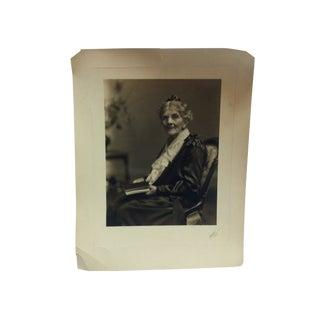 "1920s Vintage Hosluter ""Grandma"" Black & White Photograph For Sale"
