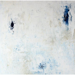 Neutral Impasto Original Abstract Art Painting Canvas For Sale