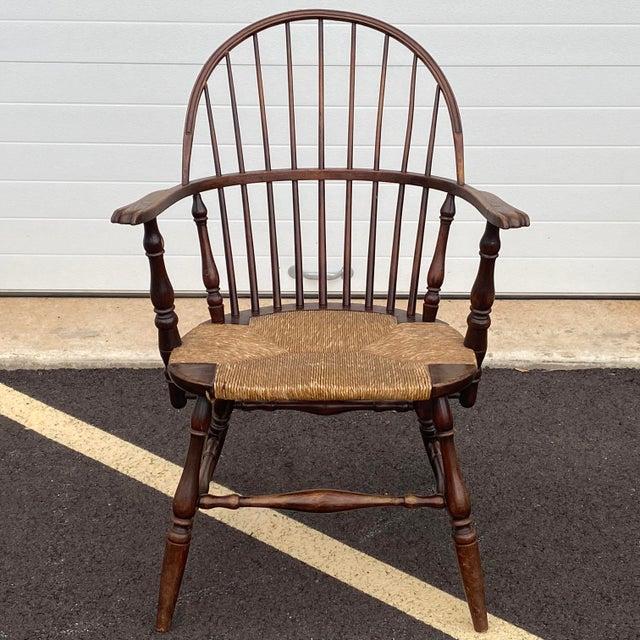 Antique Sack Back Windsor Chair For Sale - Image 13 of 13