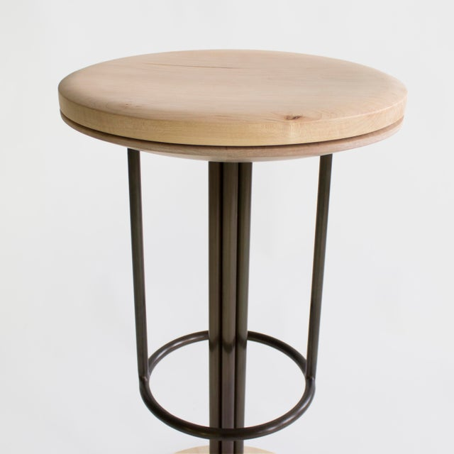 Brass Inez Bar and Counter Stool For Sale - Image 7 of 10