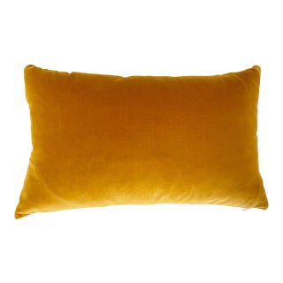 "Loro Piana Velvet Pillow, 21"" For Sale"