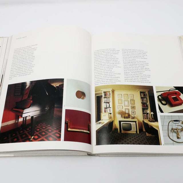 """1960s David Hicks """"Living With Design"""" Book For Sale - Image 5 of 8"""