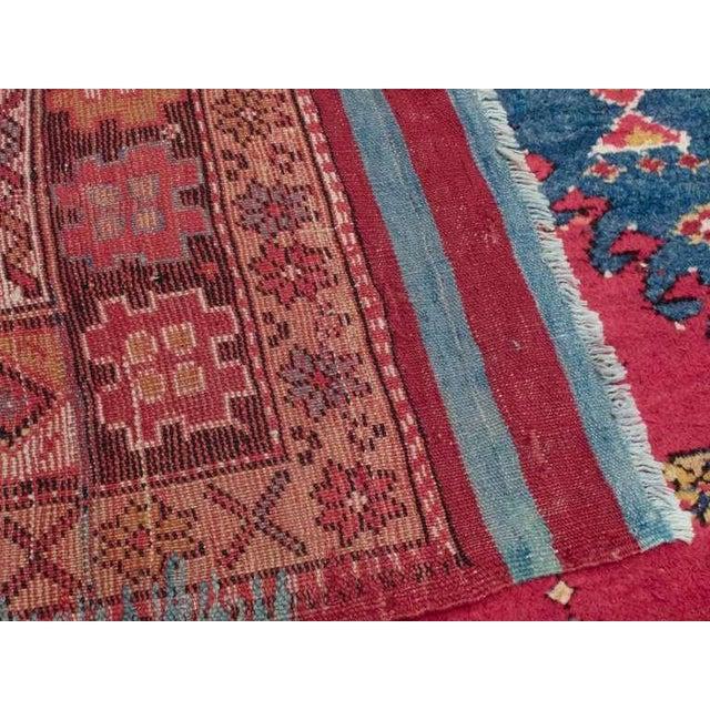 Primitive Antique West Anatolian Long Rug For Sale - Image 3 of 7