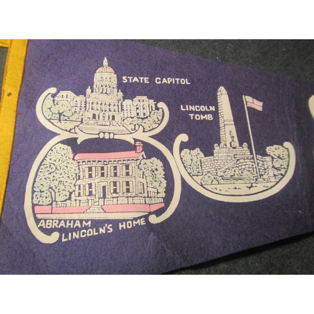 Land of Lincoln Tourism Pennant - Image 3 of 7