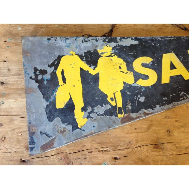 Antique Safety Station Sign - Image 6 of 8