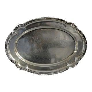1940s Gorham Sterling Silver Platter For Sale