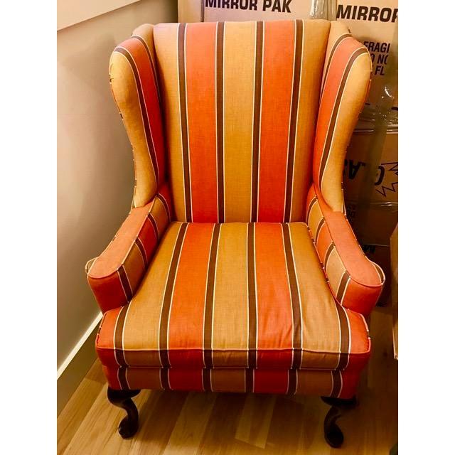 1970 S Vintage Pearson Wingback Chair Chairish