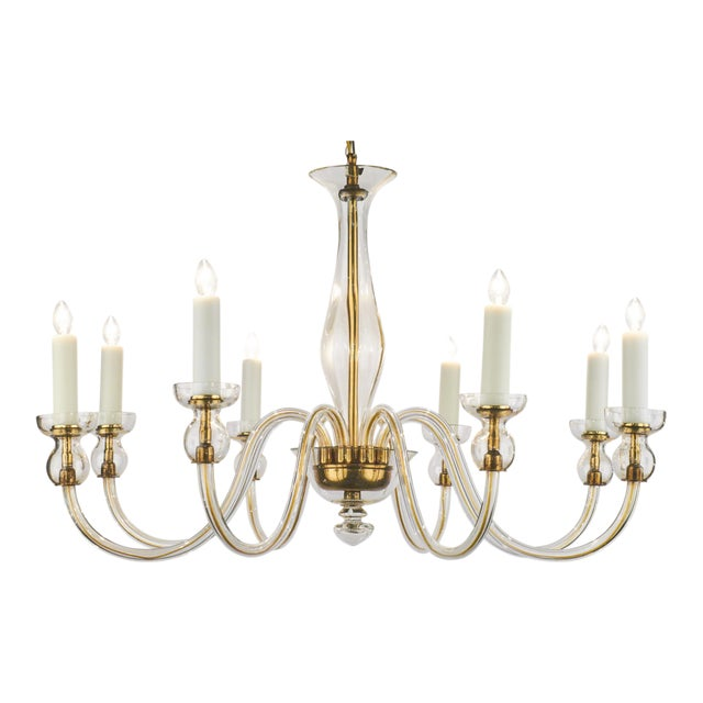 High end murano amber glass chandelier decaso murano amber glass chandelier image 1 of 11 aloadofball Images