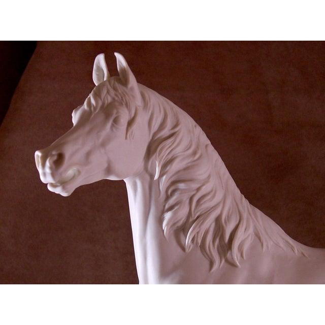 1960s 1960s Vintage Arabian Horse Sculpture For Sale - Image 5 of 13