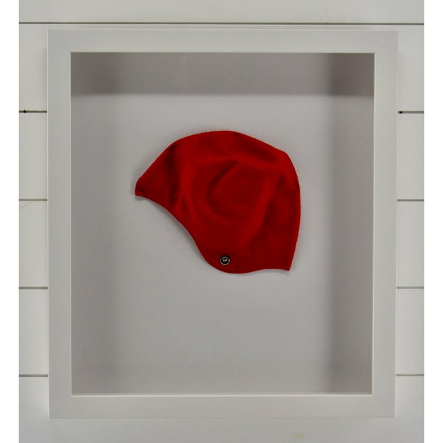 Art Deco Vintage Womens Swimming Cap For Sale - Image 3 of 4