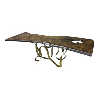 Blue Ridge Live Edge Dining Table 2 For Sale