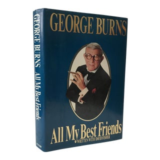 George Burns First Edition Signed Book For Sale