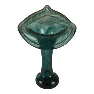 Art Nouveau Trumpet Vase For Sale