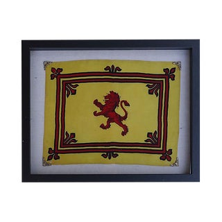 Antique Royal Banner of Scotland For Sale