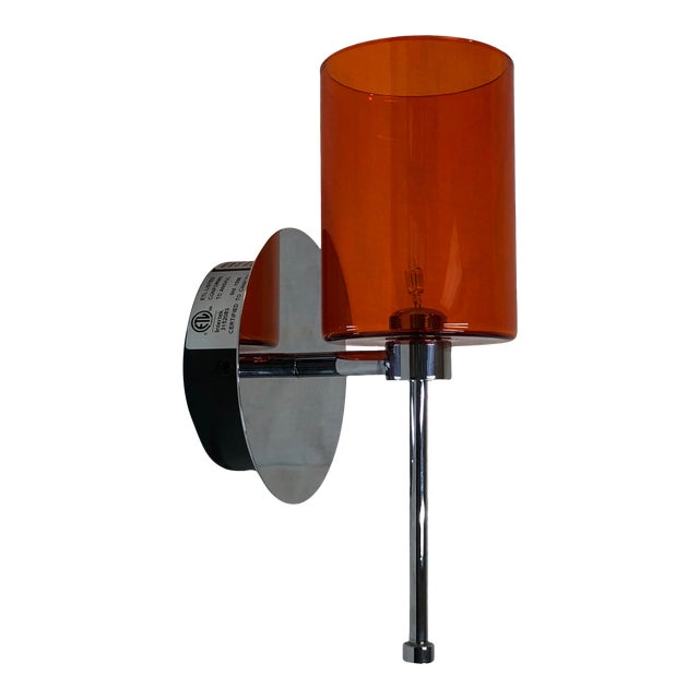 Axolight Spillray Wall Sconce in Red For Sale