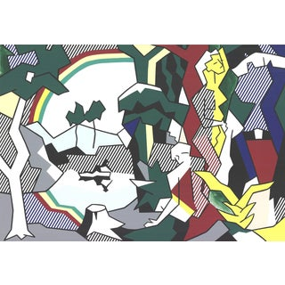 Roy Lichtenstein, Landscape With Figures and Rainbow (No Text) For Sale