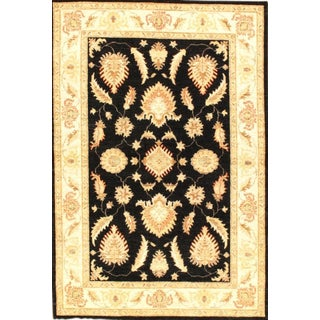 "Pasargad N Y Original Hand-Knotted Farahan Area Rug - 4'2"" X 6'1"""