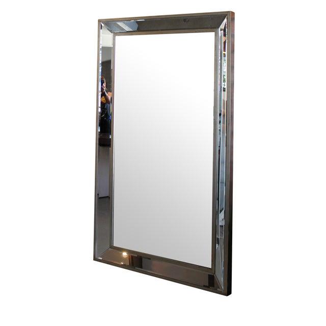 Silver Leaf Mirror - Image 1 of 4