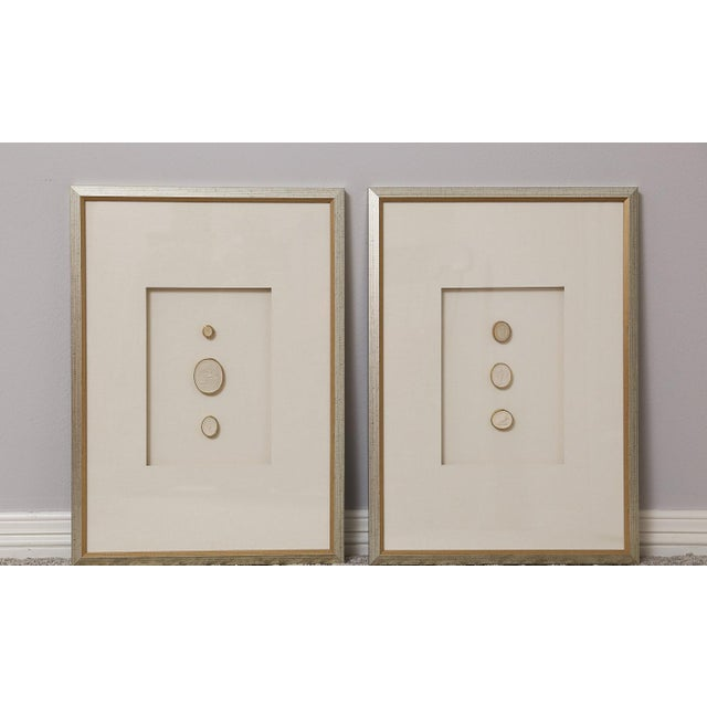 1820 Grand Tour Intaglios, Set of 2 For Sale - Image 10 of 10