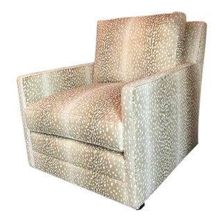 M/T Company Upholstered Chair For Sale