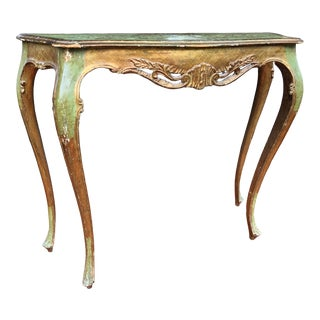 Italian Console Table For Sale