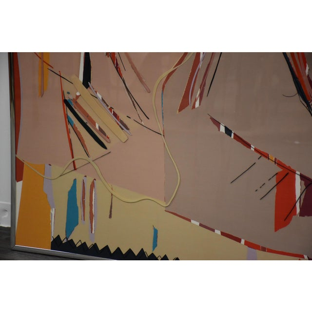 Sally Anderson Sally Anderson Large Abstract Painting For Sale - Image 4 of 10