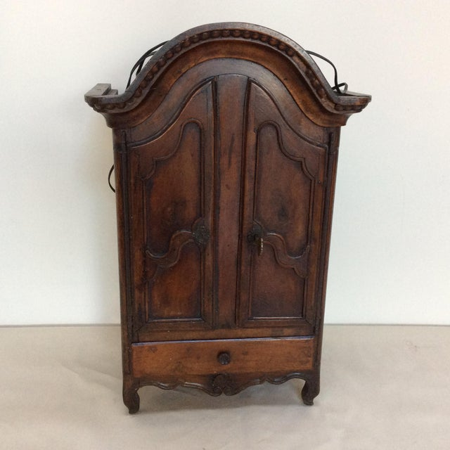Charming 18th Century French Armoire with two doors and a drawer.