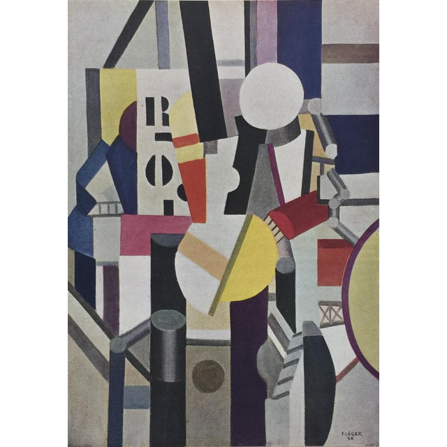 Fernand Léger portfolio of 16 gorgeous lithographic prints of some of his most iconic paintings. Printed by Editions du...