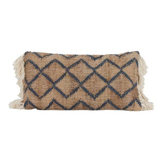 Morgan Designer Lumbar Accent Pillow For Sale