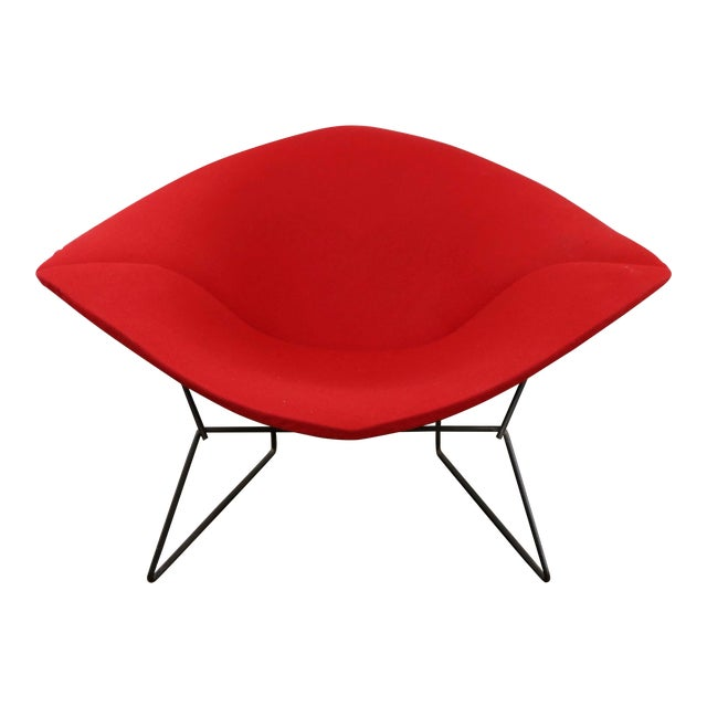 Mid-Century Modern Harry Bertoia for Knoll Diamond Chair For Sale