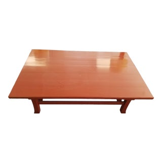 1990s Baker Coffee Table For Sale