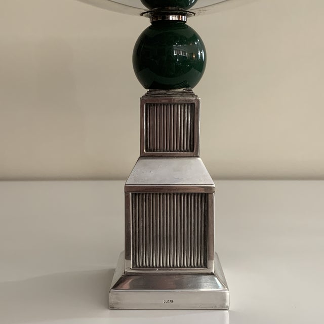 Gucci Vintage Gucci Silver Plate Centerpiece Bowl For Sale - Image 4 of 13